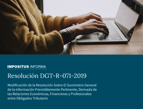 Resolución DGT-R-071-2019